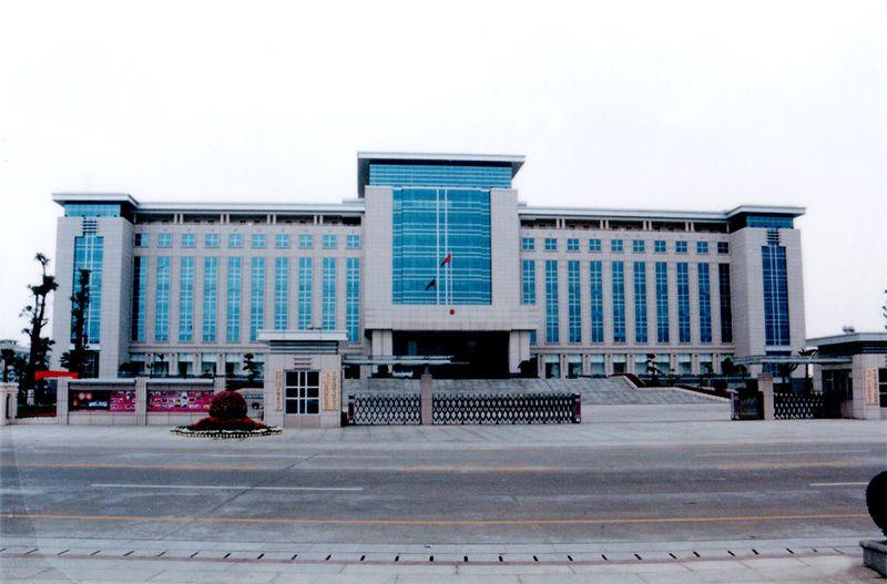 古镇人民政府办公大楼(省优工程)